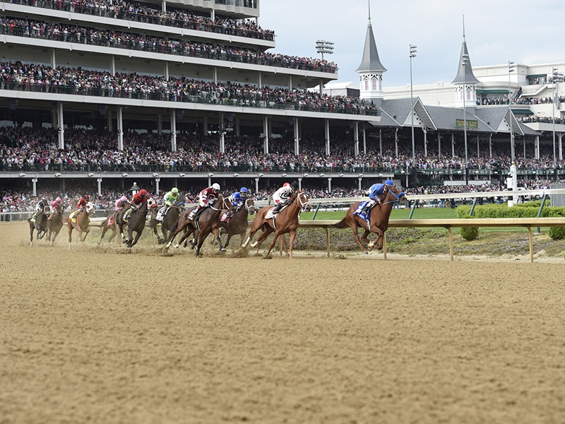 The Kentucky Derby, the first leg of American horse racing's legendary Triple Crown, had its debut in the heart of bourbon country 143 years ago. Photograph: Churchill Downs Racetrack
