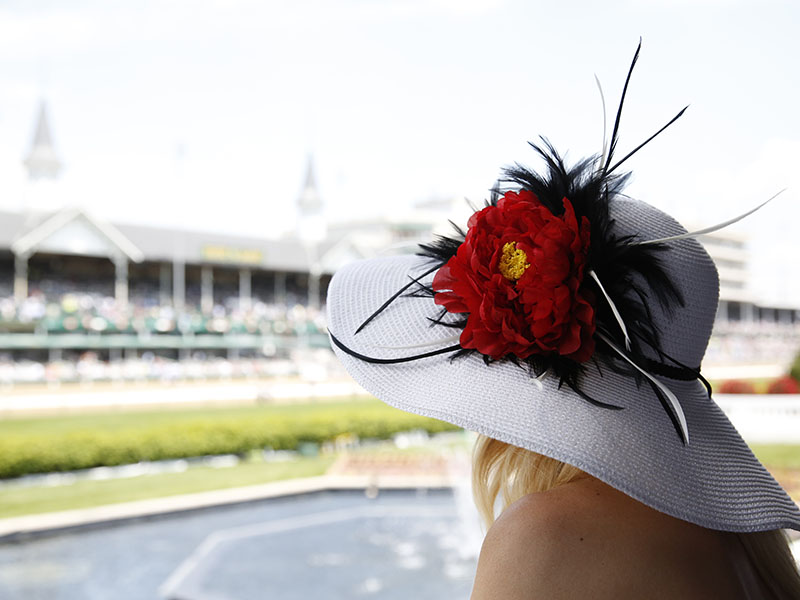 Spanning 147 acres, Churchill Downs's grandstand is topped by the Twin Spires—a universally recognized symbol of the Kentucky Derby. Photograph: Churchill Downs Racetrack