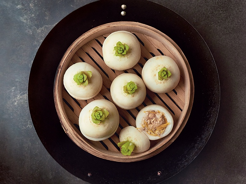 Miso-stuffed steamed turnips are among the recipes in Nancy Singleton Hachisu's <i>Japan: The Cookbook</i>.