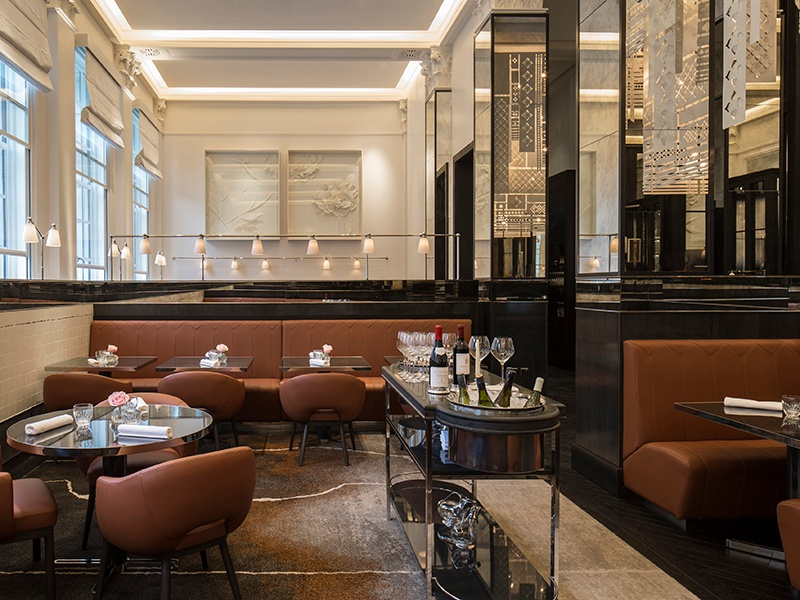 Four Seasons Hotel London at Ten Trinity Square hosts Anne-Sophie Pic's first venture outside of France.
