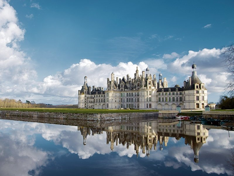 The unique Chambord château, an emblem of the French Renaissance, is set within a 13,500-acre walled estate in the Loire Valley. Photograph: Ludovic Letot