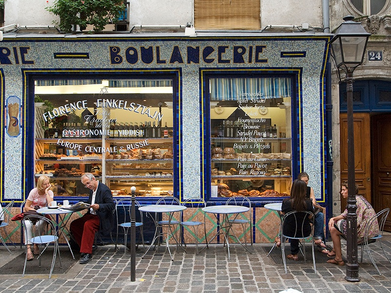 Among the labyrinthine cobblestone alleys of Le Marais in Paris, you're likely to stumble upon important museums, some of the capital's best shopping, and quaint cafés. Photograph: Getty Images