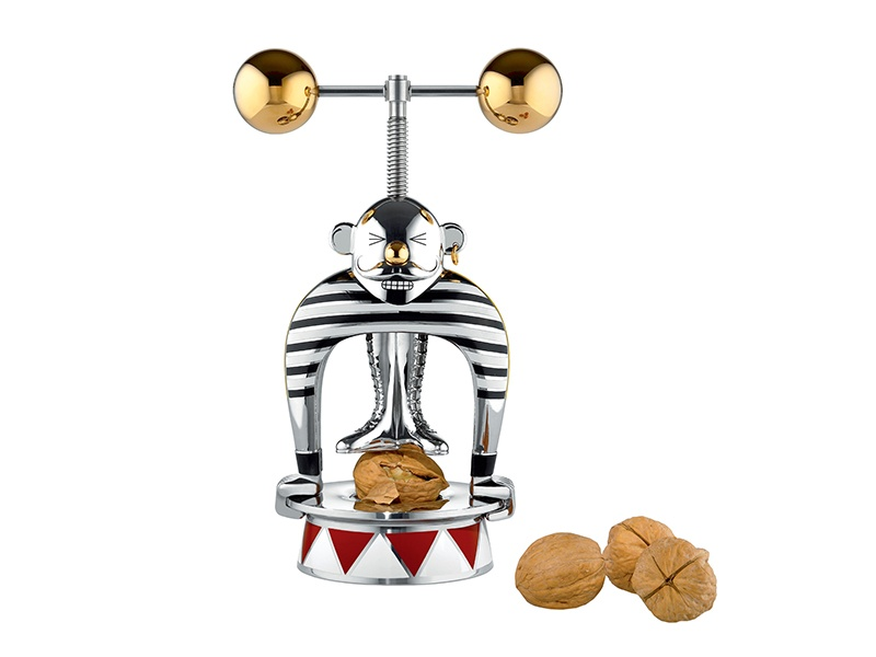 A playful addition to any kitchen, the Strongman nutcracker was designed by Marcel Wanders for Italian brand Alessi.