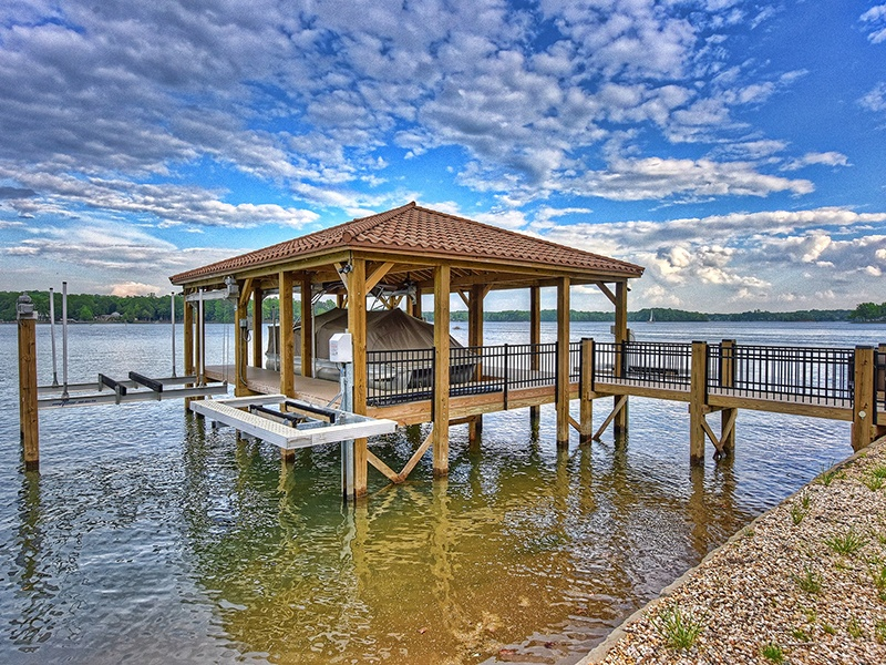 Lake Norman, named after former Duke Power president Norman Atwater Cocke, is known locally for its superlative fishing opportunities. Photograph: Ivester Jackson