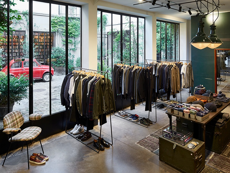 Shoppers can seek out everything from the latest men's and women's fashion to used books to kitchenware in the industrial-like space.