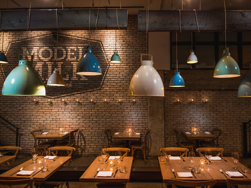 Model Milk is a restaurant that prides itself on sourcing quality local and regional products, preparing them simply, and showcasing them at their best. Photograph: Nathan Elson Photography
