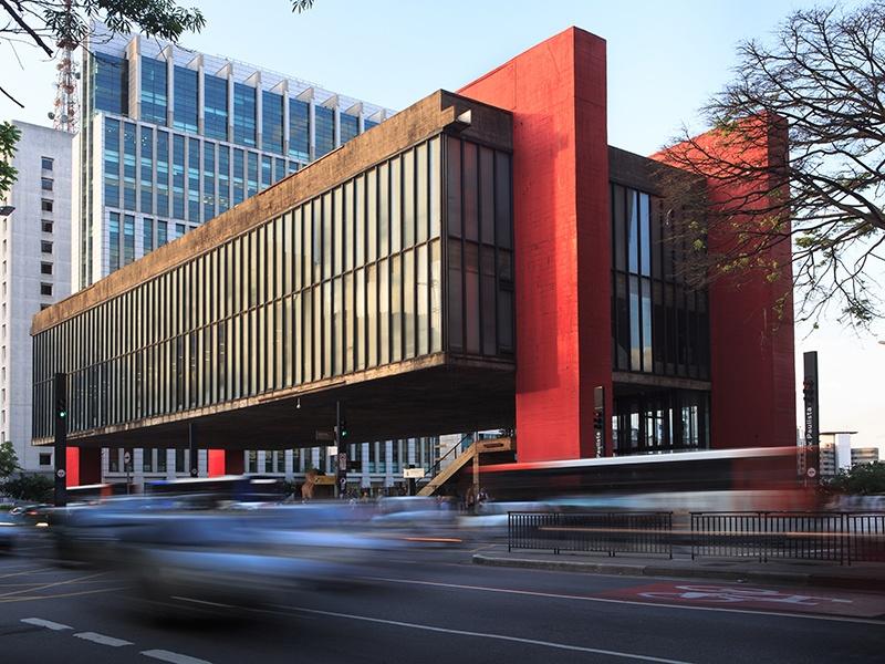 For the Museu de Arte de São Paulo, designer Lina Bo Bardi used glass and concrete to create a building of rough surfaces that still conveys a sense of lightness and transparency. Photograph: Shutterstock