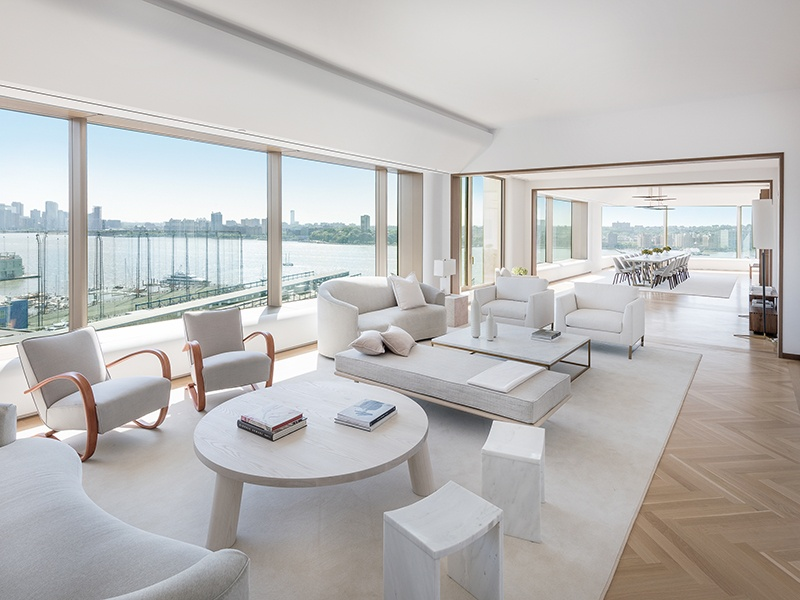 """""""Ideally located on Manhattan's waterfront, 551 West 21st Street is set on a premier block in one of the most vibrant and sought-after neighborhoods in the world,"""" says Dustin Crouse, Associate Real Estate Broker at Christie's International Real Estate."""