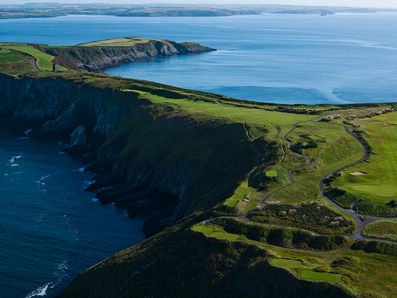 Old Head Golf Links in Kinsale offers world-class golf in a spectacular setting.