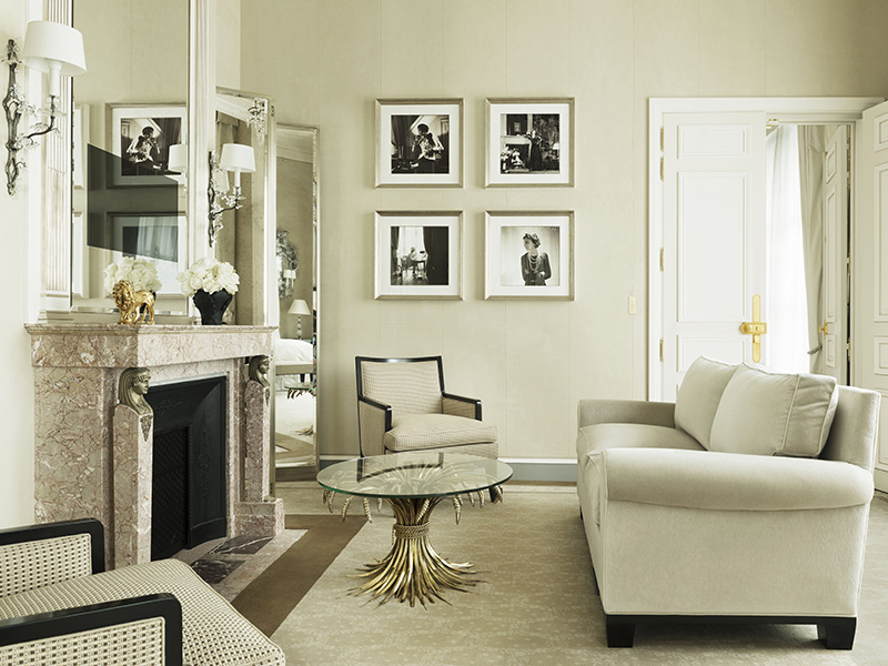 New York-based designer Thierry W Despont meticulously restored the Ritz's historic suites ahead of the hotel's 2016 reopening, maintaining the small touches so loved by guests including Coco Chanel, after whom a suite is named. Banner image: Salon Proust at the Ritz Paris. Photographs: Vincent Leroux