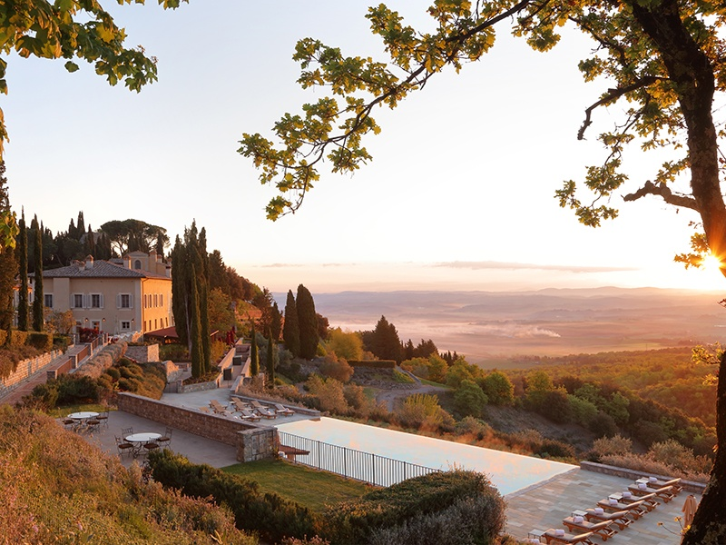For the ultimate gourmet gift, schedule a trip to one of the oldest and best-preserved estates in Tuscany.