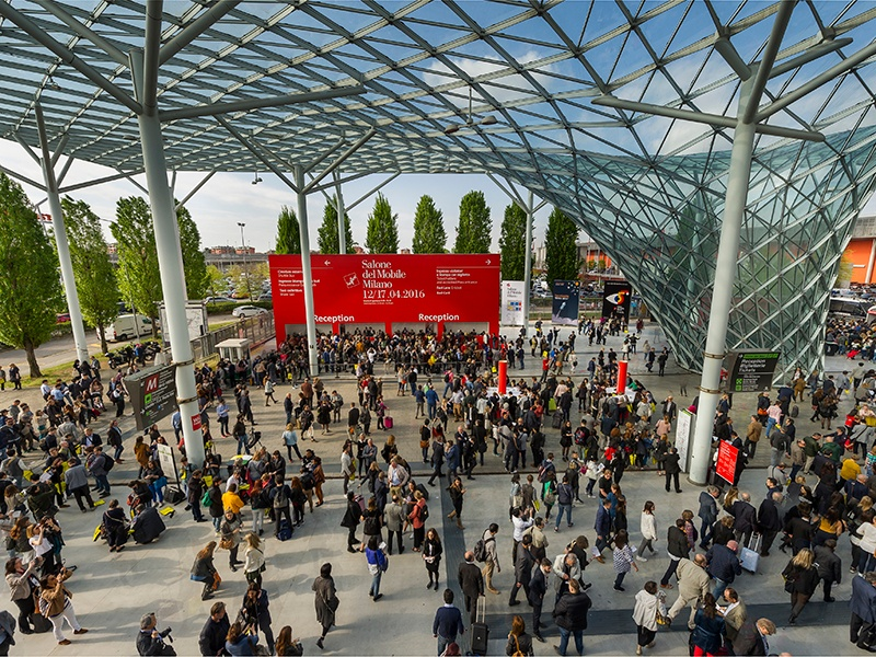 The 56th edition of Salone del Mobile is expected to welcome over 300,000 visitors from around 165 different countries to Milan in April. Photograph: Alessandro Russotti, courtesy Salone del Mobile.Milano