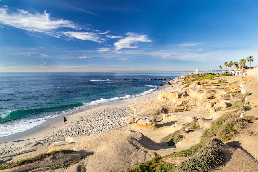 With some of the finest weather anywhere as well as 70 miles of coastline, San Diego is a swimmer's paradise.