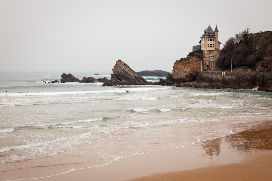 The seaside resort city of Biarritz in southwestern France is at once a summer haven and a mecca for surfers.