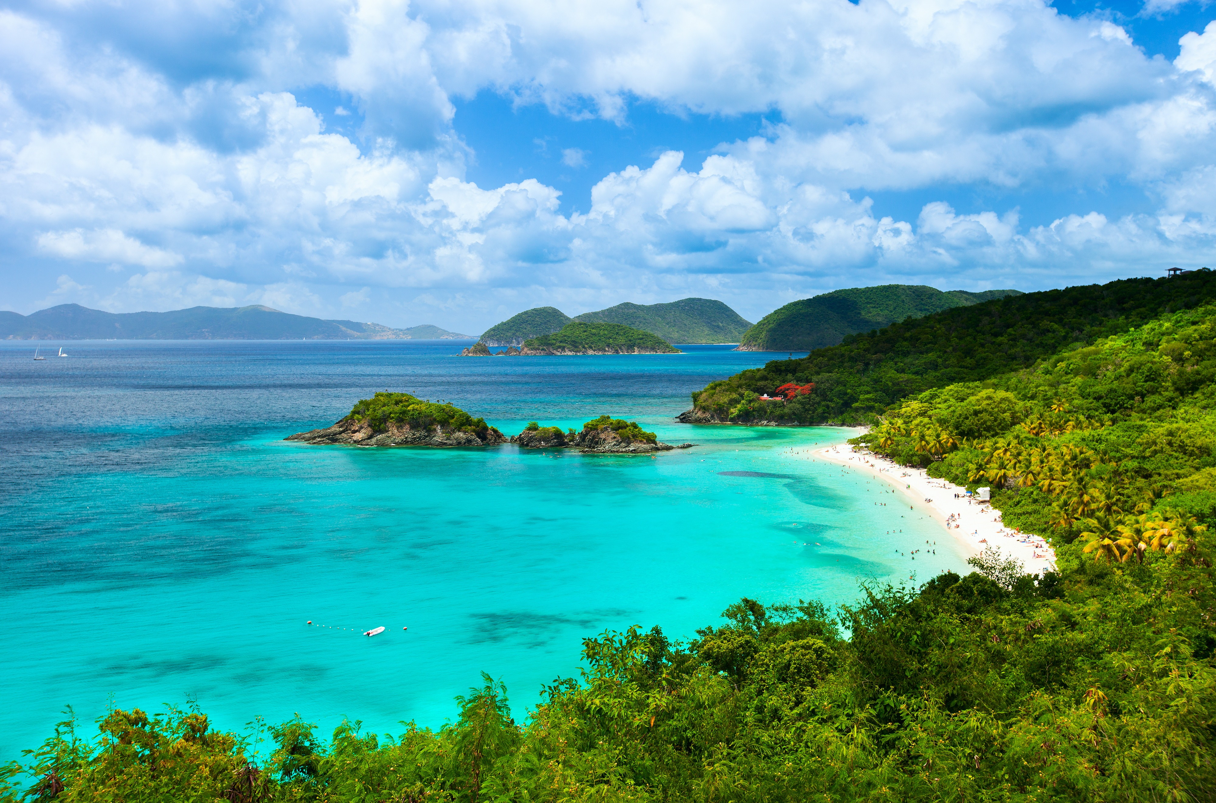 The U.S. Virgin Islands are a tropical haven of white sand beaches, vibrant music and culture, and nature preserves full of exotic plants and animals.