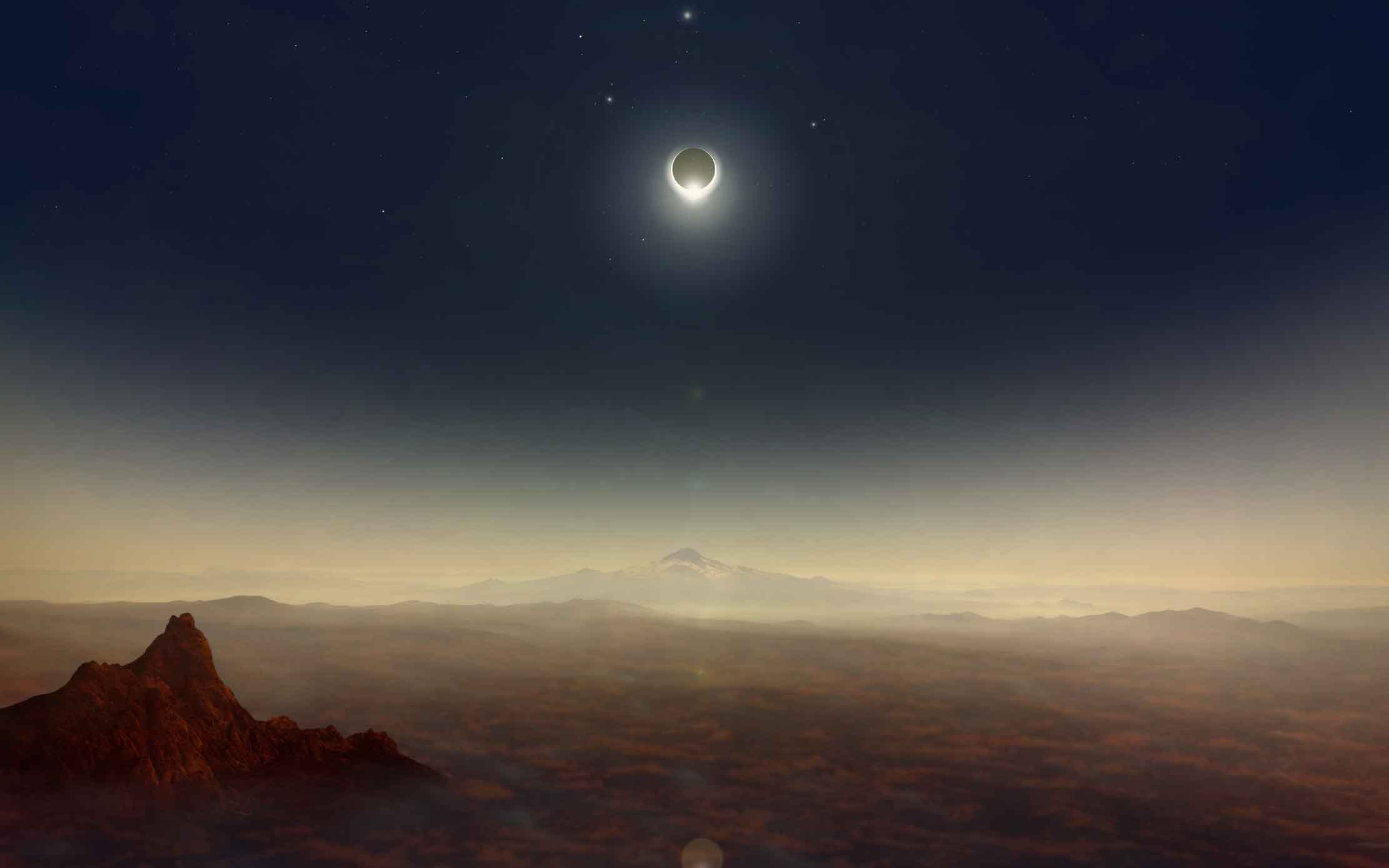 Eclipse-chasers and stargazers have descended on the United States from across the globe to experience the country's first total solar eclipse in the 26 years.