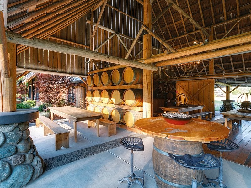 Red Lily Vineyards, an award-winning riverfront property in Jacksonville, Oregon, produces terroir-driven wines and has a 5,200-square-foot winery. On the market with Luxe Platinum Properties, an exclusive affiliate of Christie's International Real Estate.