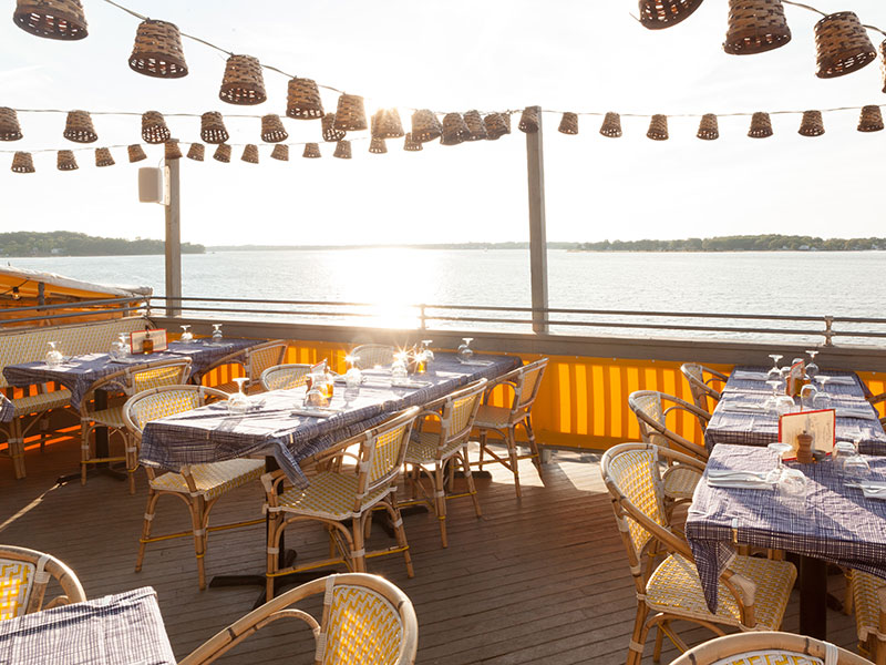 Sunset Beach's restaurant celebrates the healthy and delicious summertime food of the French Riviera and coastal Italy. Photograph: Courtesy of Sunset Beach