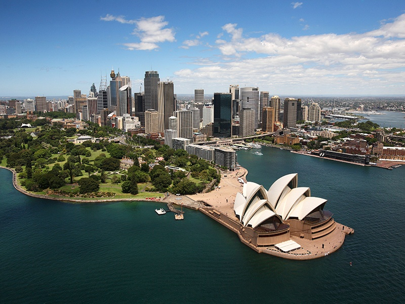 Sydney is renowned for its urban green spaces, such as the Barangaroo Reserve and Central Park, which visitors and locals alike enjoy alongside Sydney Harbour's Royal Botanic Garden and The Domain. Photograph: Alamy