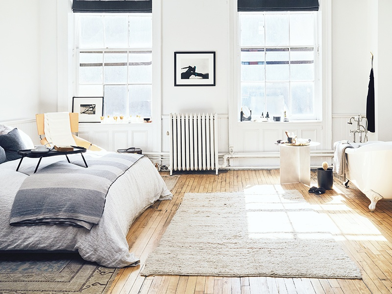 Located in New York's SoHo neighborhood, The Apartment offers a more serene shopping experience than might ordinarily be expected.