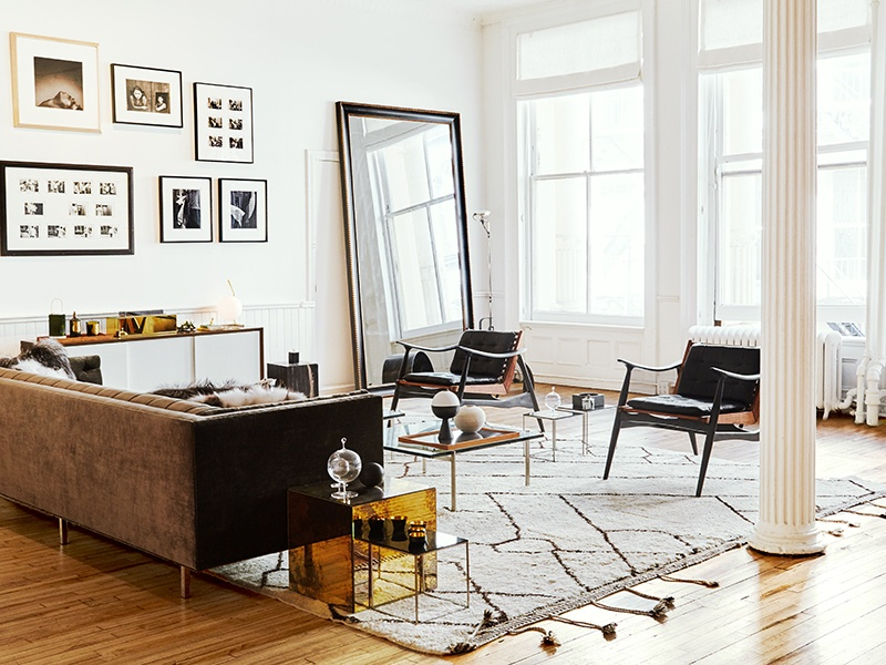 The brick-and-mortar version of the ecommerce shopping site The Line, The Apartment's minimalist aesthetic gives shoppers space to explore.