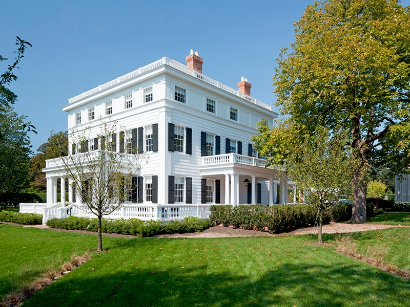 Topping Rose House was originally constructed in 1842 for Abraham Topping Rose, who worked as a local attorney before becoming a county judge. Photograph: Tim Street-Porter