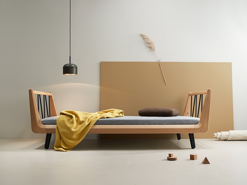 Uuio's toys and furniture are functional and timelessly stylish, contributing to the overall design of the family home.