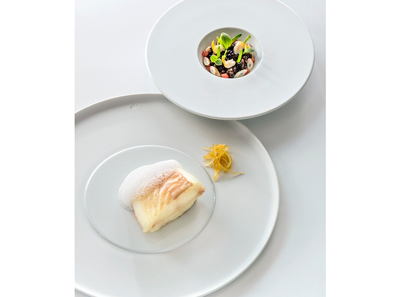 """Among the tasting menus at Villa René Lalique is the Inspiration Menu, """"created according to the inspiration of the moment."""" Photograph: Richard Haughton"""