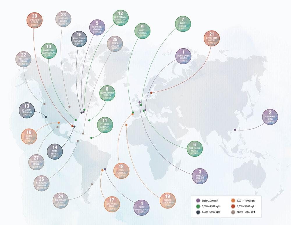 What $5 Million Buys Around the World