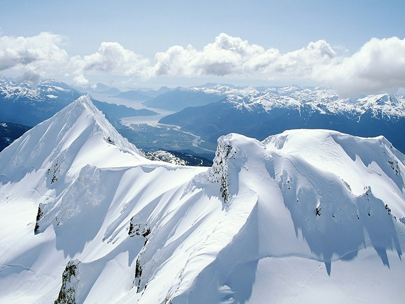 Whistler is one of the largest ski resorts in North America. Under two hours by car from Vancouver, there are year-round activities on offer—from skiing and snowboarding to championship golf and hiking. Photograph: Getty Images