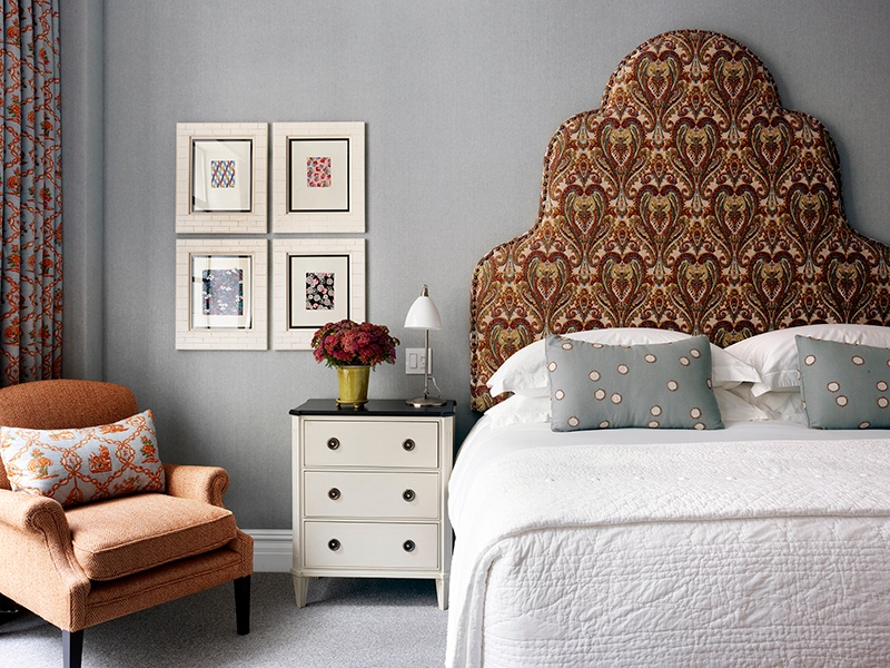 All of the spacious bedrooms and suites at Whitby Hotel reflect designer Kit Kemp's fresh, contemporary style.