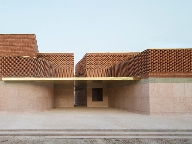 The Musée Yves Saint Laurent Marrakech by architecture firm Studio KO will open in fall 2017, next to the designer's beloved Jardin Majorelle. Photograph: ©Nicolas Mathéus