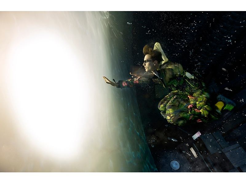 Holloway's images are disquieting and intriguing—distinctive yet not always obvious they were shot underwater. Photograph: ©Zena Holloway
