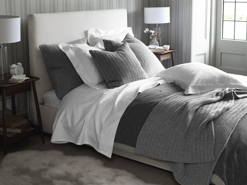 The White Company has a longstanding reputation for quality bed linens. Photograph: The White Company