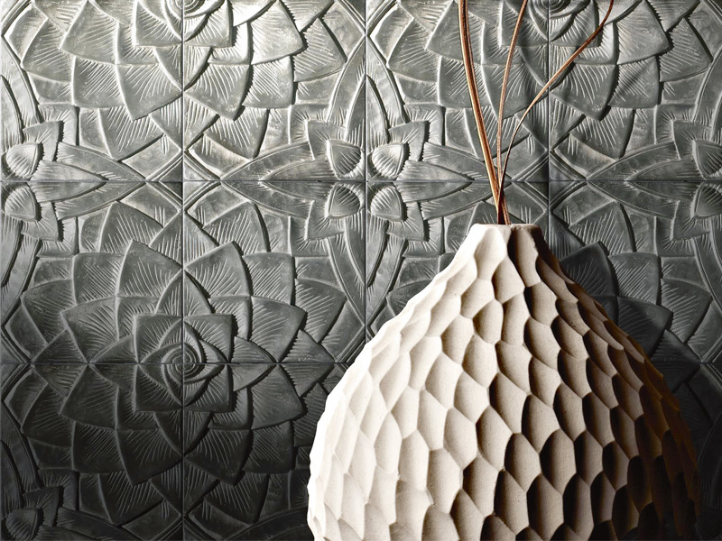 Lotus by Fameed Khalique is created in sand-cast aluminium.
