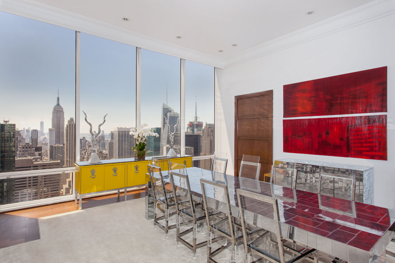 Majestically sitting on top of one of New York most famous Fifth Avenue buildings,this sundrenched Loft like duplex penthouse, offers approximately 9,450 square feet of magnificent living and entertaining space.