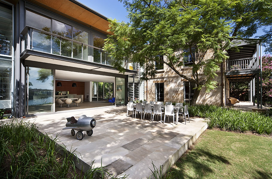 Bulwarra is the 2009 winner of the HIA CSR NSW Award for Home of the Year. It was also the winner of the 2009 Master Builders Award for alterations/renovation, environmental management and pool. Photograph: Anson Smart