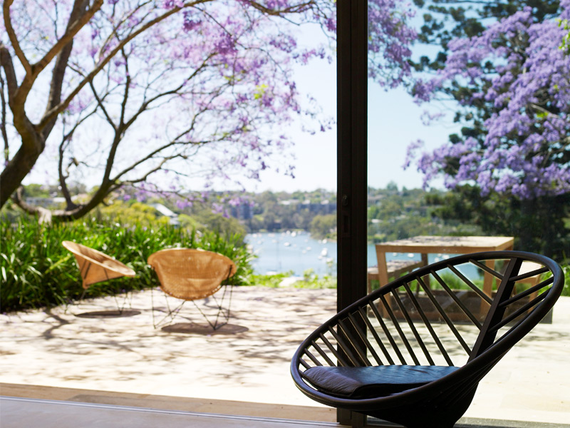 Banner image: Bulwarra enjoys panoramic views across Lane Cove River to Sydney. So it's fitting that every aspect of Bulwarra embraces indoor/outdoor living. The home's design and renovation has received two major building awards, including Australia's Housing Industry Association's Home of the Year 2009. Photograph: Anson Smart