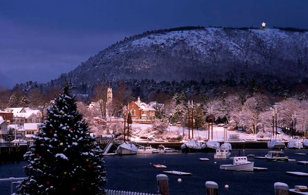 Maine's Breathtaking Winter Landscape: ©Jim Dugan Photography