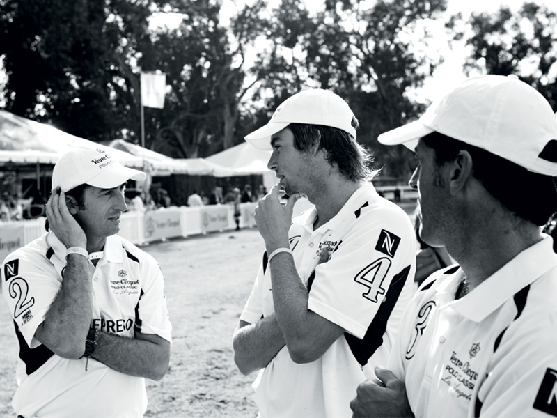 Polo players come from all walks of life, and it's a sport whose appeal is widening. Photograph Chris Baldwin