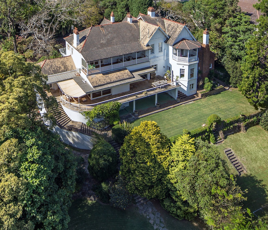 Two videos told potential buyers the story of the prestigious Point Piper mansion, which had been home to one of Australia's most prominent media families.