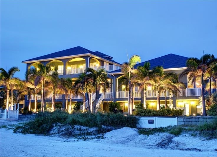 <b>8 Bedrooms, 8,627 sq. ft.</b><br/>This is one of the largest gulf-front properties in Pinellas County. The spectacular one-of-a-kind home has over 8,600 sq. ft. of custom designed, heated space spread over three stories, an 11-car garage and large gated driveway for more than 10 cars, and more than 3,700 sq. ft. of covered verandas.