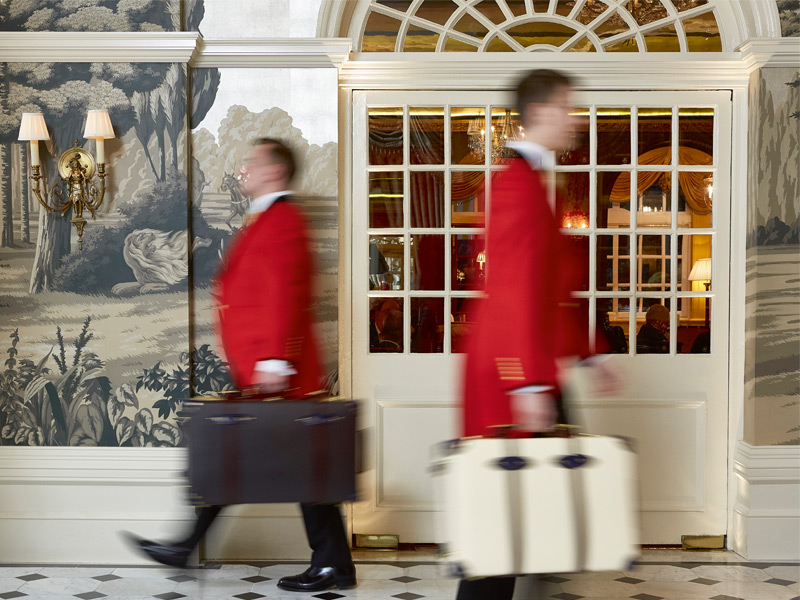 A favorite among well-heeled visitors and Londoners – Catherine Middleton and her family famously stayed here the night before her wedding to Prince William – The Goring has played host to many great names during its 105-year history.