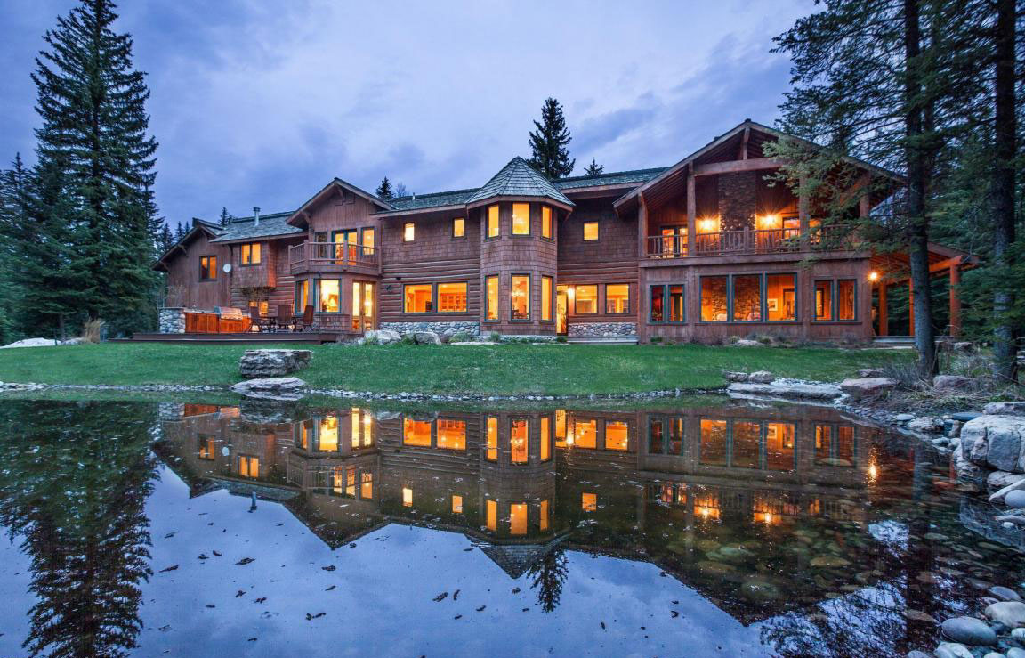 <b>US$4,250,000<br/>5 Bedrooms, 6,246 sq. ft.</b><br/>The perfect Jackson Hole residence or family retreat, this grand mountain home has a tranquil setting nestled amid trees on five acres of grounds frequented by wildlife. Offering every amenity for luxury living and entertaining in the Tetons, the exceptional appointments include a great room with exposed beams and vaulted ceilings, multiple comfortable lounge areas, a large master suite, and more than 2,000 square feet of decks, balconies, and stone patios.