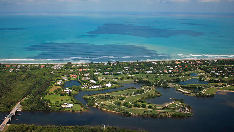 A rare find on Jupiter Island—A homesite in a most convenient location offering over 2.5 buildable acres with beautiful golf course views across Bassett Creek just off the Indian River