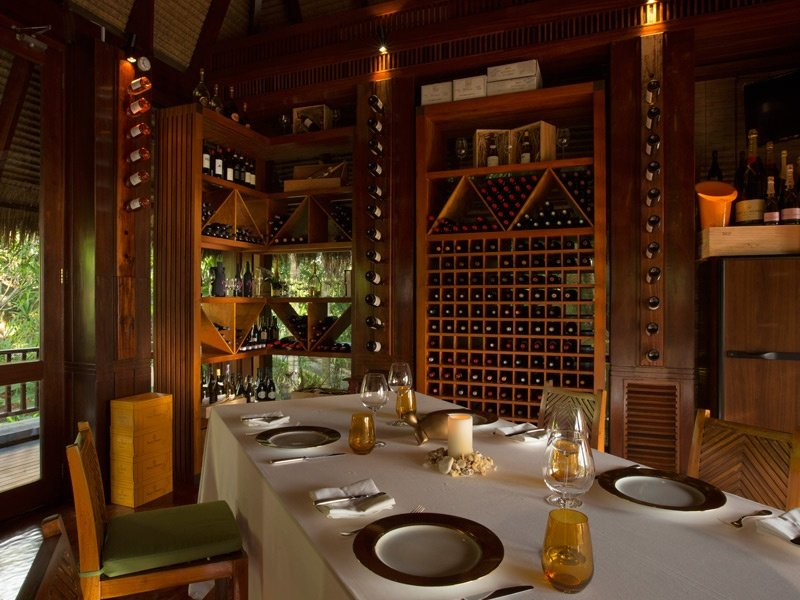 MAIA's intimate Wine Boutique houses the largest wine collection in the Seychelles – a sublime spot for private dinners and expert-led tastings.