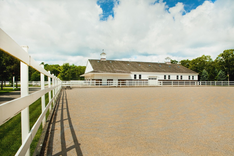 Located on the Cape, this custom equestrian property was built with thought and attention to detail for the horse enthusiast.