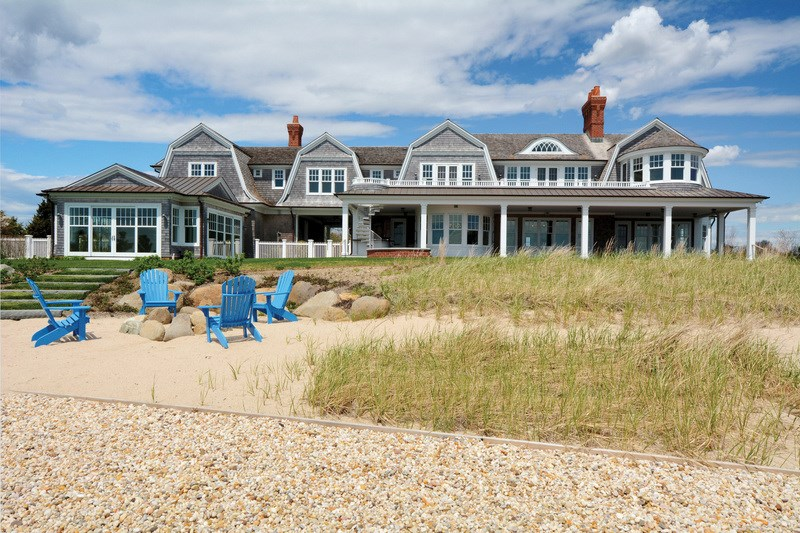 <b>5 Bedrooms, 7,500 Sq. Ft.</b><br/>Set on more than 1.5-acres directly on Moriches Bay in the heart of Remsenburg, this magnificent two-story custom residence boasts five lovely bedrooms and 7,500-square-feet of living space. Meticulous craftsmanship demonstrates the quality and care of this spectacular home with unobstructed views of the water.