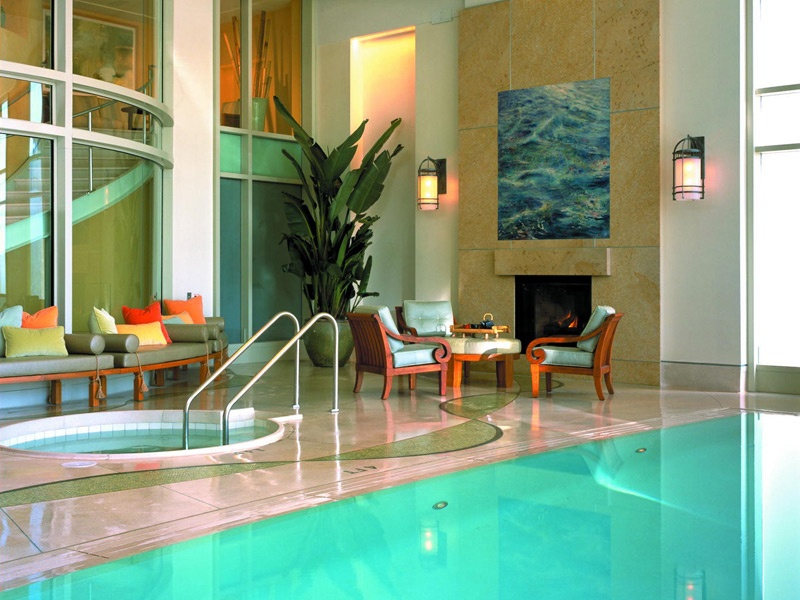 The Scarlet Huntington's Nob Hill Spa is a three-level oasis that boasts a Zen relaxation room, saunas, and a eucalyptus steam room.