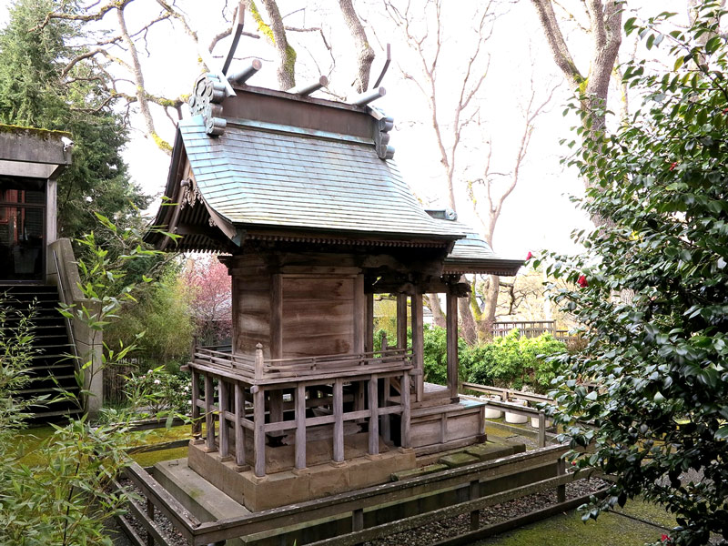The Art Gallery of Victoria's Japanese Shinto shrine – the only one of its kind in North America.
